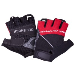 GELSHOCK - GLOVES - BLACK-RED
