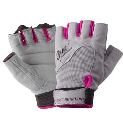 WOMEN'S - TREC ACCESORIES - FITNESS - GLOVES - GRAY