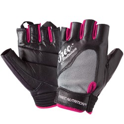 WOMEN'S - TREC ACCESORIES - FITNESS - GLOVES - BLACK-GRAY