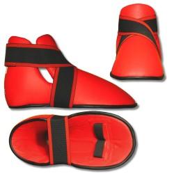 Ochraniacz stopy DX czerwony
