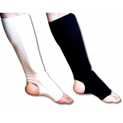 Goleń-stopa elastyczny czarny