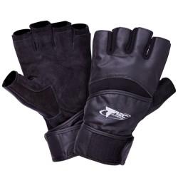 Rękawiczki kulturystyczne Trec strong Black