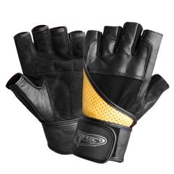 Rękawiczki kulturystyczne Trec Super Strong Black-Brown