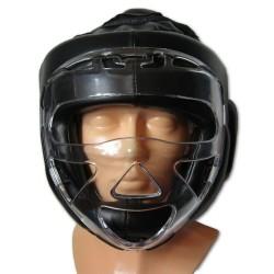 Ochraniacz głowy – kask z maską