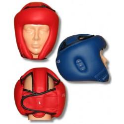 Ochraniacz głowy – kask PU czerwony
