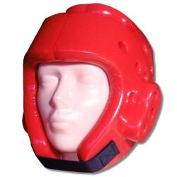 Ochraniacz głowy – kask piankowy czerwony