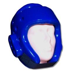 Ochraniacz głowy – kask piankowy niebieski