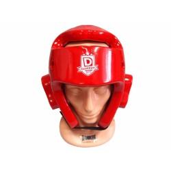 Ochraniacz głowy/kask - piankowy DANIKEN czerwony