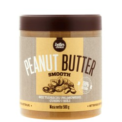 PEANUT BUTTER SMOOTH (PET) - 500 G