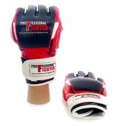 Rękawice MMA skóra MODERN RED/BLACK