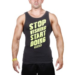 MEN'S TREC WEAR - STOP - TANK TOP 010/GRAPHITE