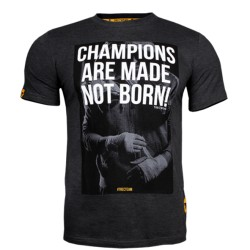 MEN'S TREC WEAR - CHAMPIONS - T-SHIRT 035/GRAPHITE