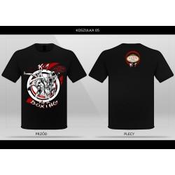 T-shirt MASTERS KICK Boxing- TS-05 koszulka K-1