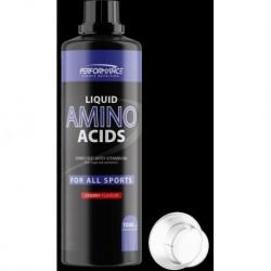 Performance Amino Liquid 1 L - smak wiśnia