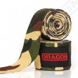 Owijki Bandaż bokserski elastyczny CAMO MORO DRAGON 5m